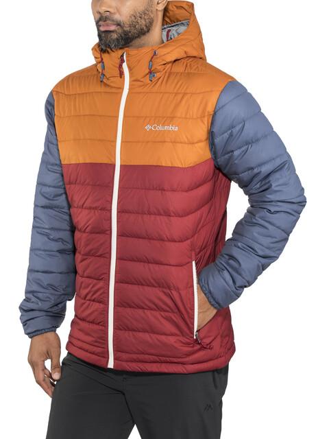 Columbia Powder Lite Jacket Men orange/red